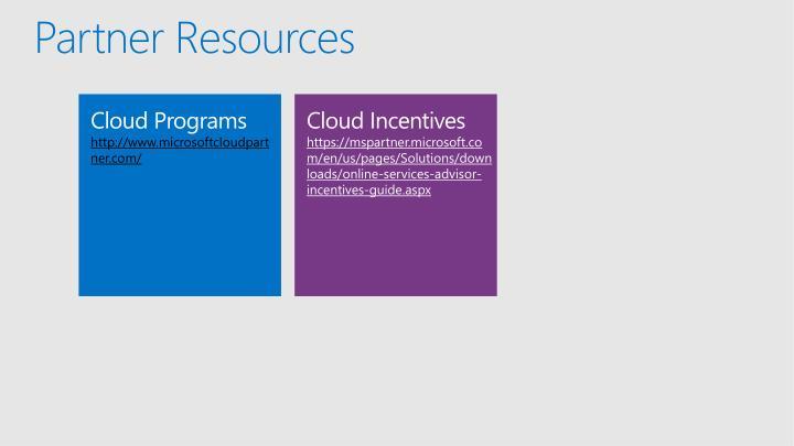 Partner Resources