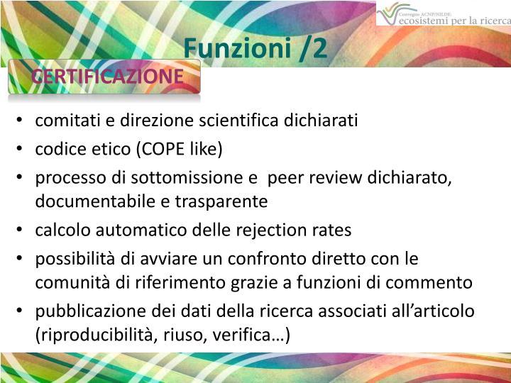 Funzioni /2