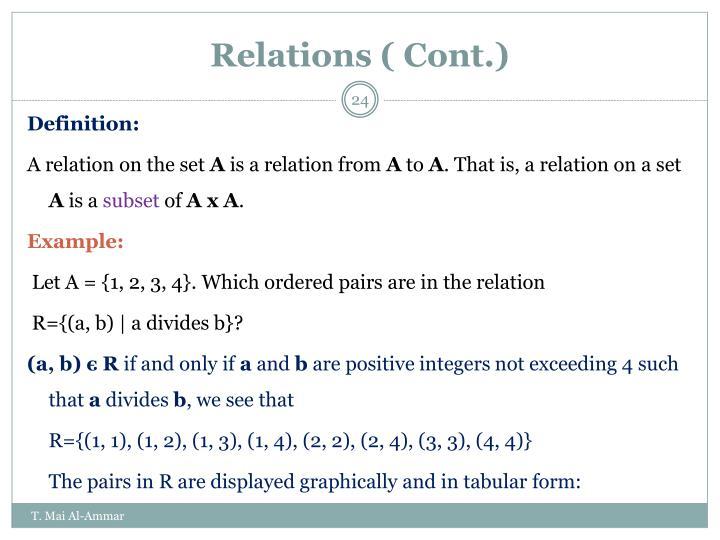 Ppt Cs 104 Discrete Mathematics Powerpoint Presentation Id 6269599