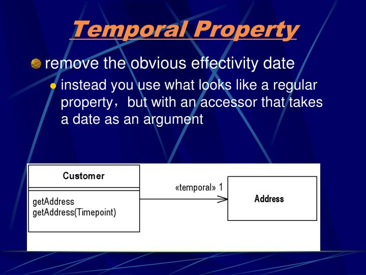 Temporal Property