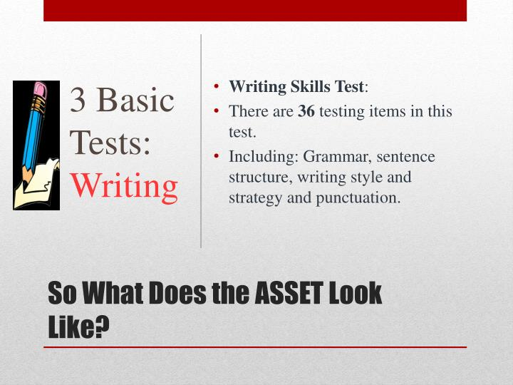 3 Basic Tests: