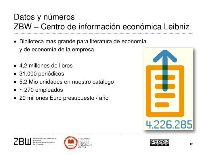 Datos y números