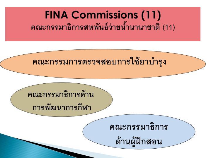 FINA Commissions (11)