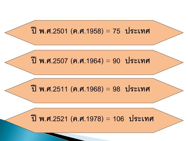 ปี พ.ศ.2501 (ค.ศ.1958)