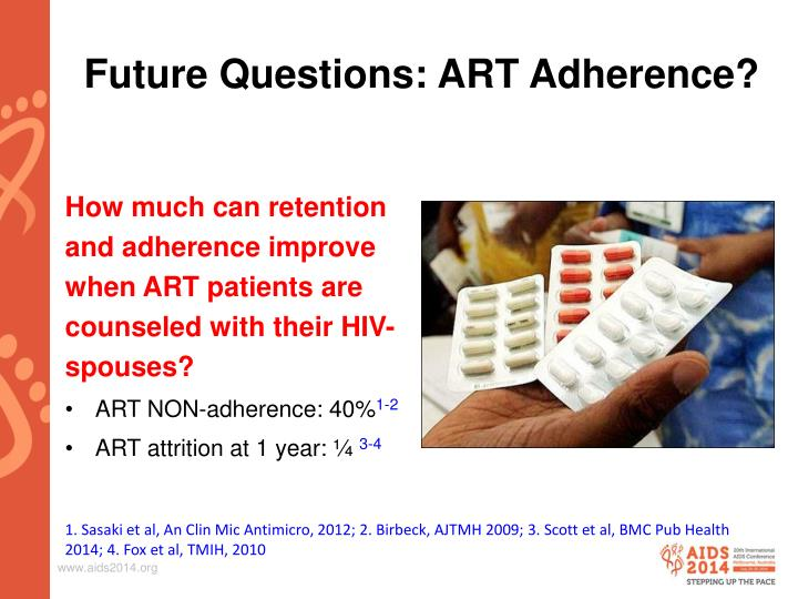 Future Questions: ART Adherence?