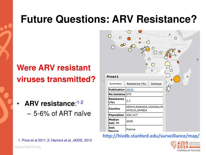 Future Questions: ARV
