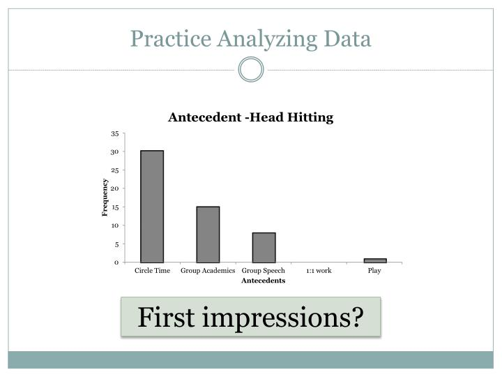 Practice Analyzing Data