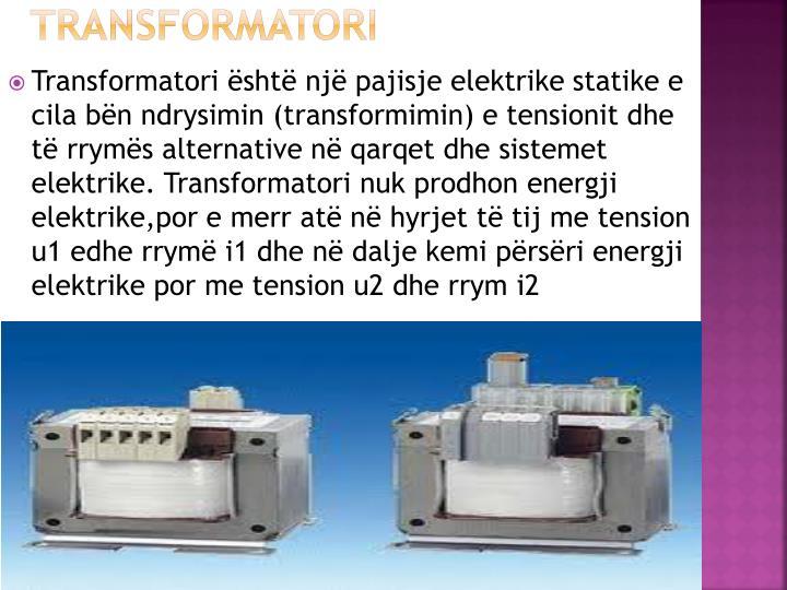 Transformatori