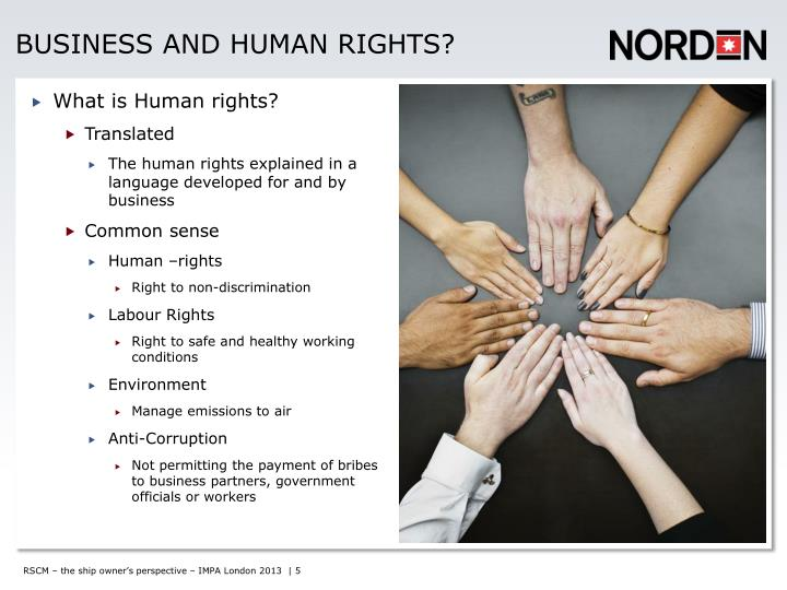 Business and human rights?