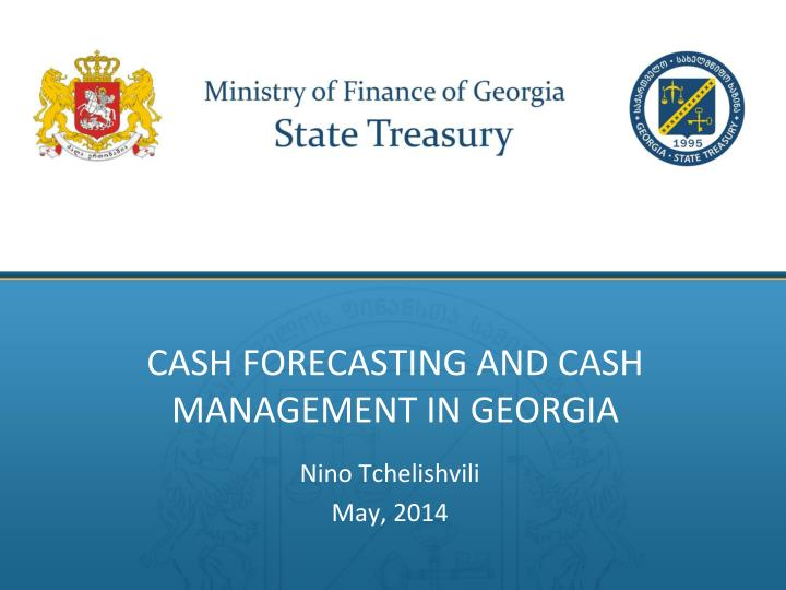 cash forecasting and cash management in georgia n.