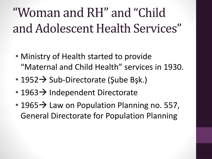 """""""Woman and RH"""""""