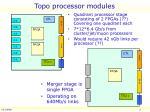 topo processor modules