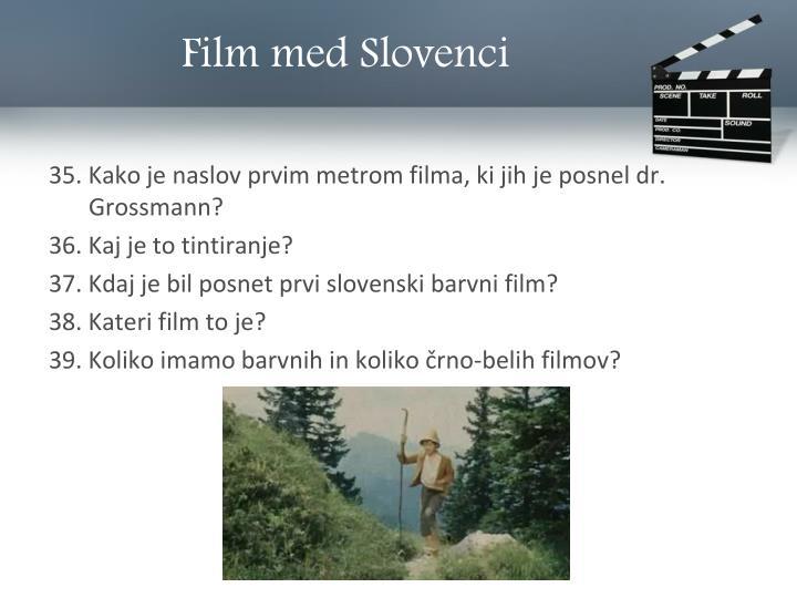 Film med Slovenci