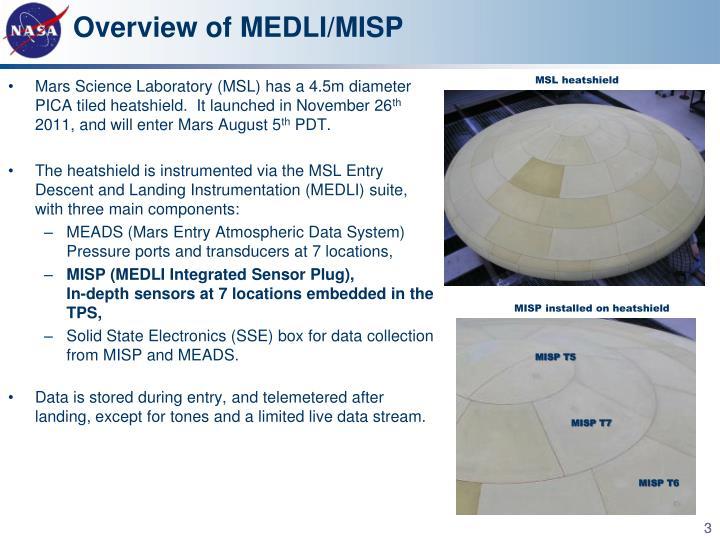 Overview of medli misp