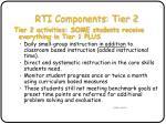 rti components tier 2