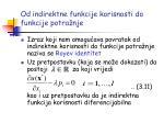 od indirektne funkcije korisnosti do funkcije potra nje