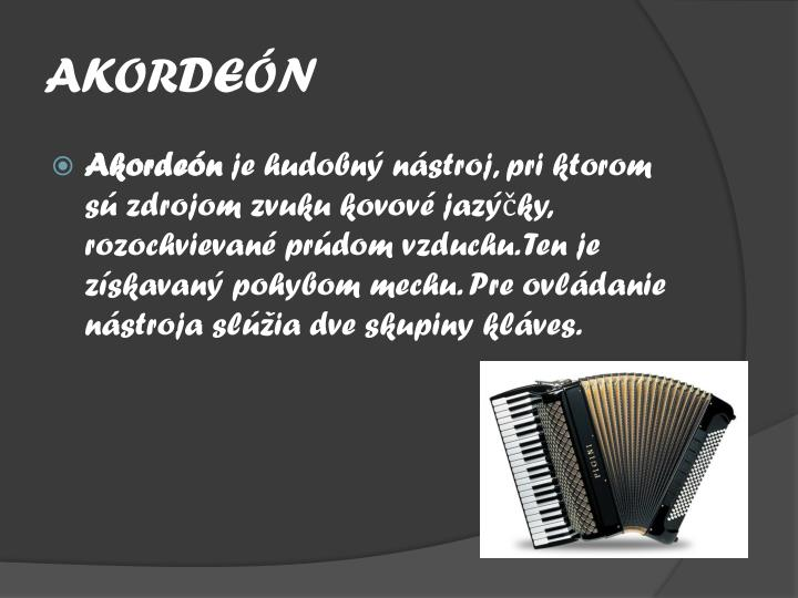 AKORDEÓN