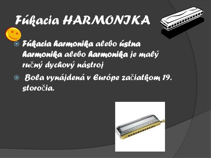 F kacia harmonika