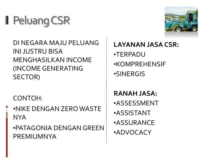 Peluang CSR