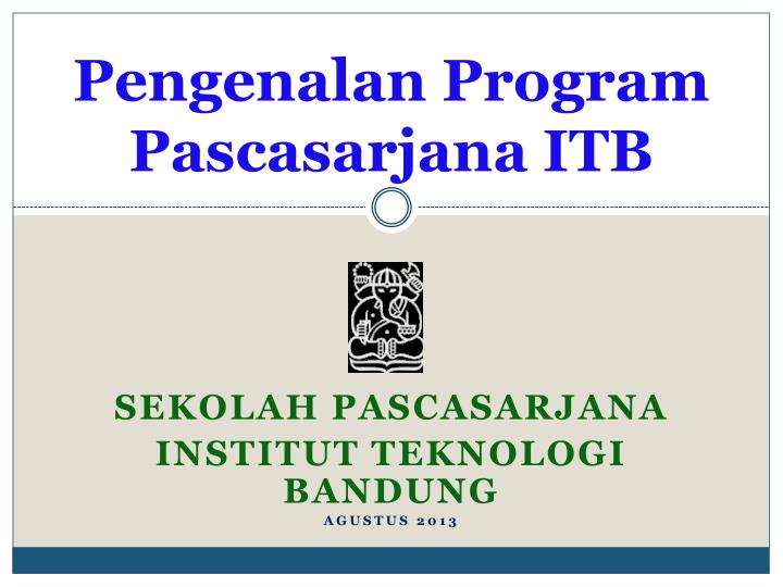 Pengenalan Program