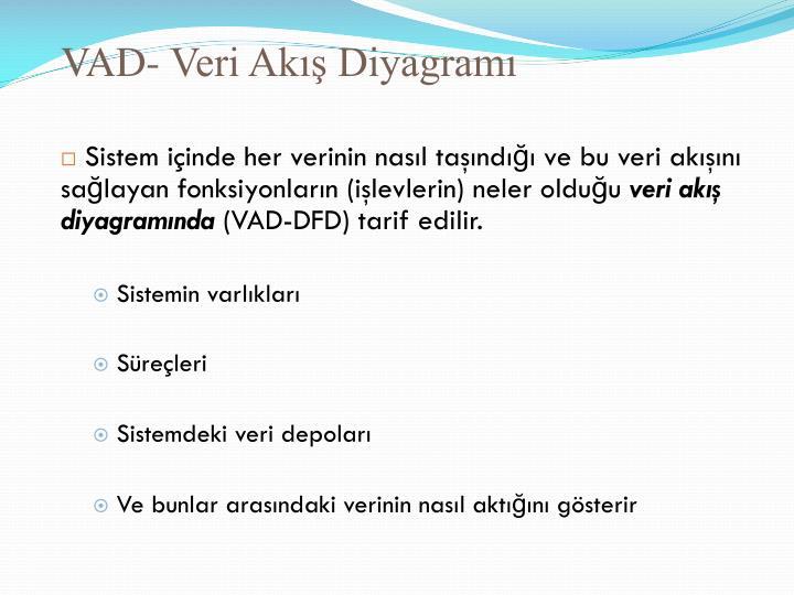 VAD- Veri Akış Diyagramı