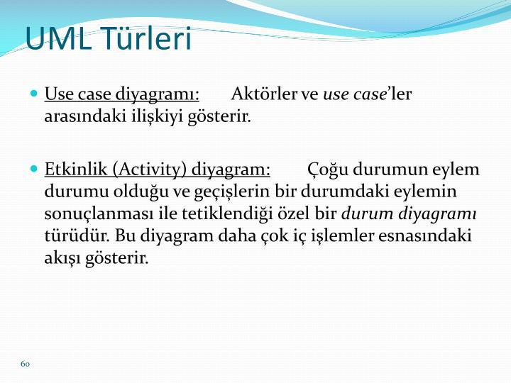 UML Türleri