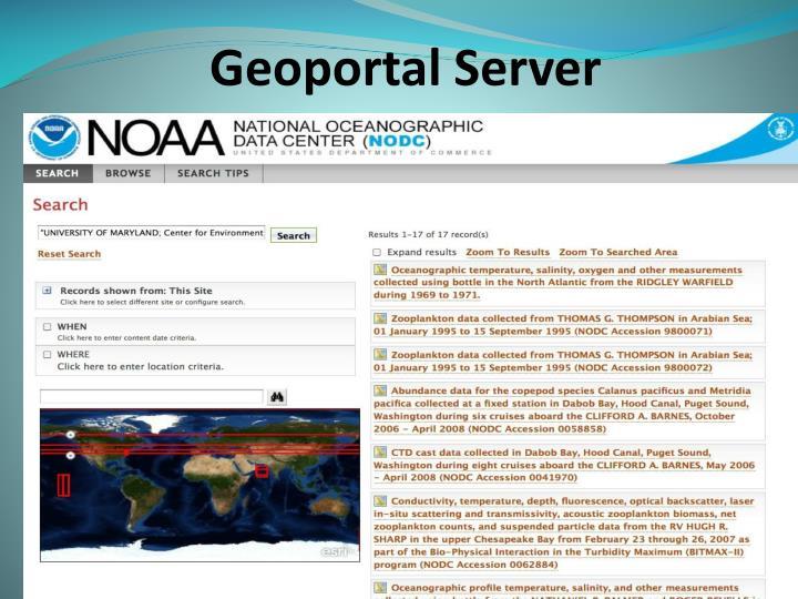 Geoportal Server