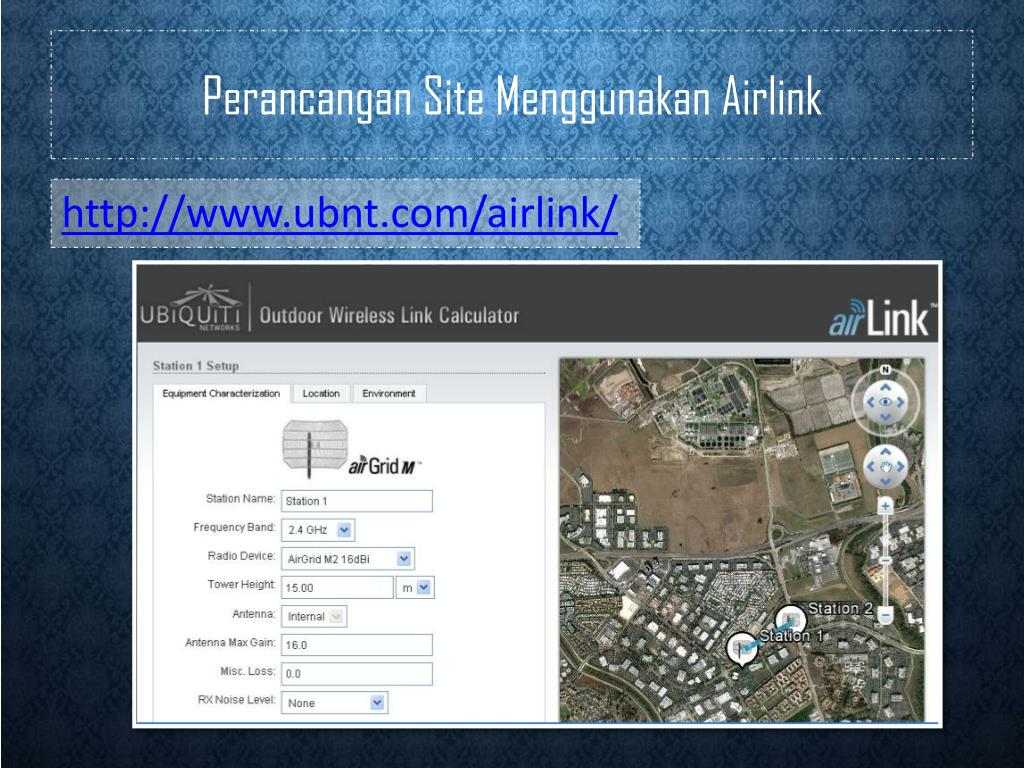 PPT - Membangun Radio Link Point to Point M enggunakan