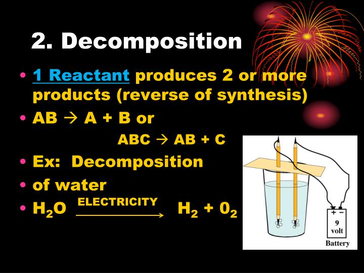 2. Decomposition