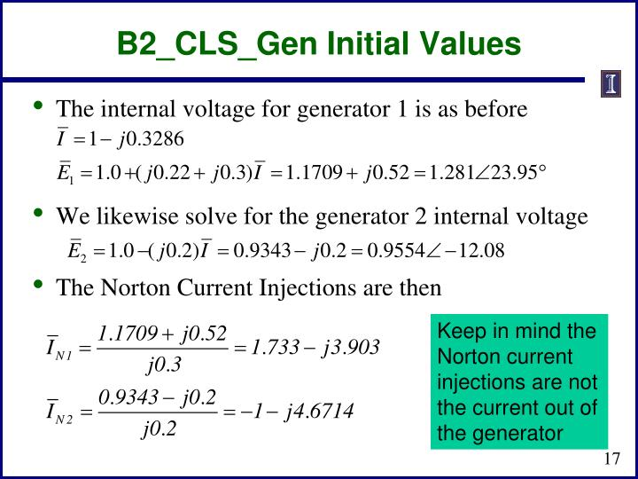 B2_CLS_Gen Initial Values