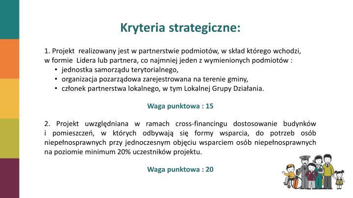 Kryteria strategiczne