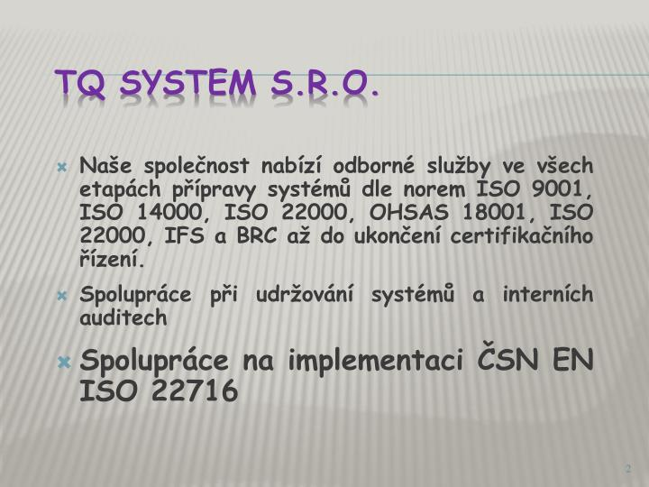 Tq system s r o