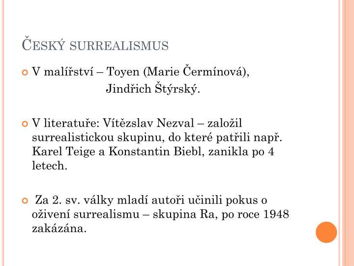 Český surrealismus