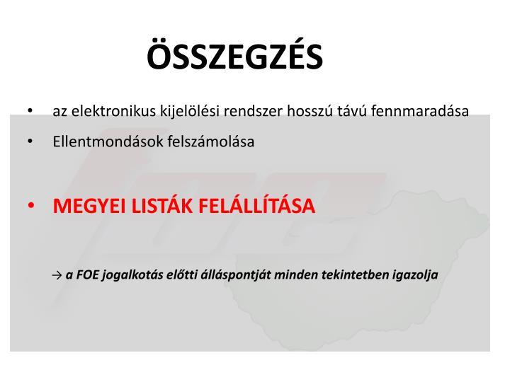 ÖSSZEGZÉS
