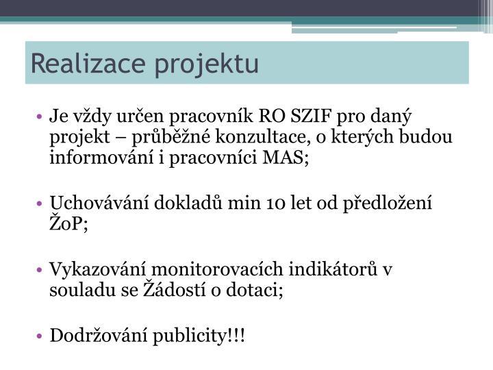 Realizace projektu1