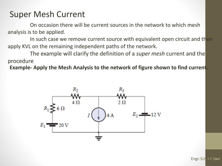Super Mesh Current