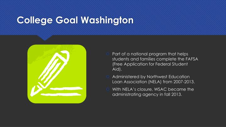 College Goal Washington