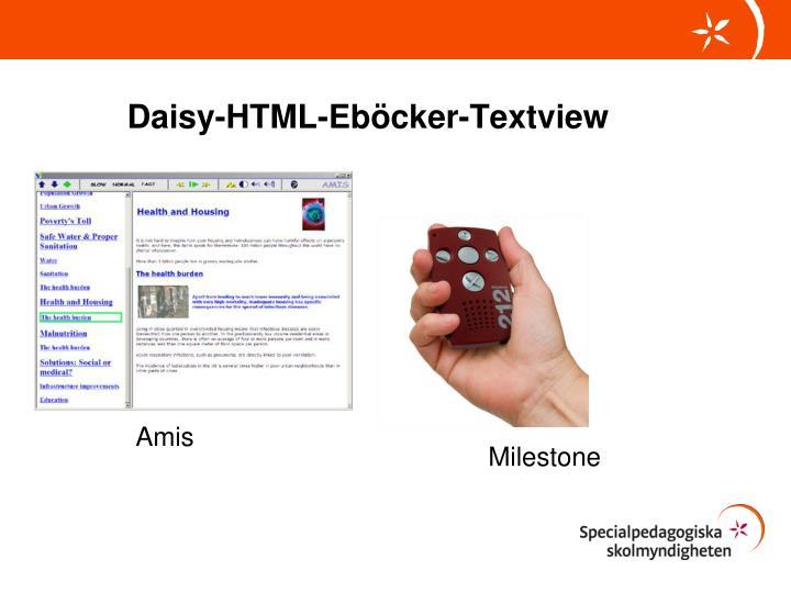 Daisy-HTML-
