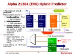 alpha 21264 ev6 hybrid predictor