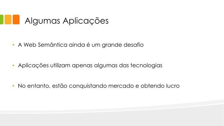 Algumas Aplicações