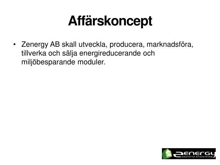 Aff rskoncept
