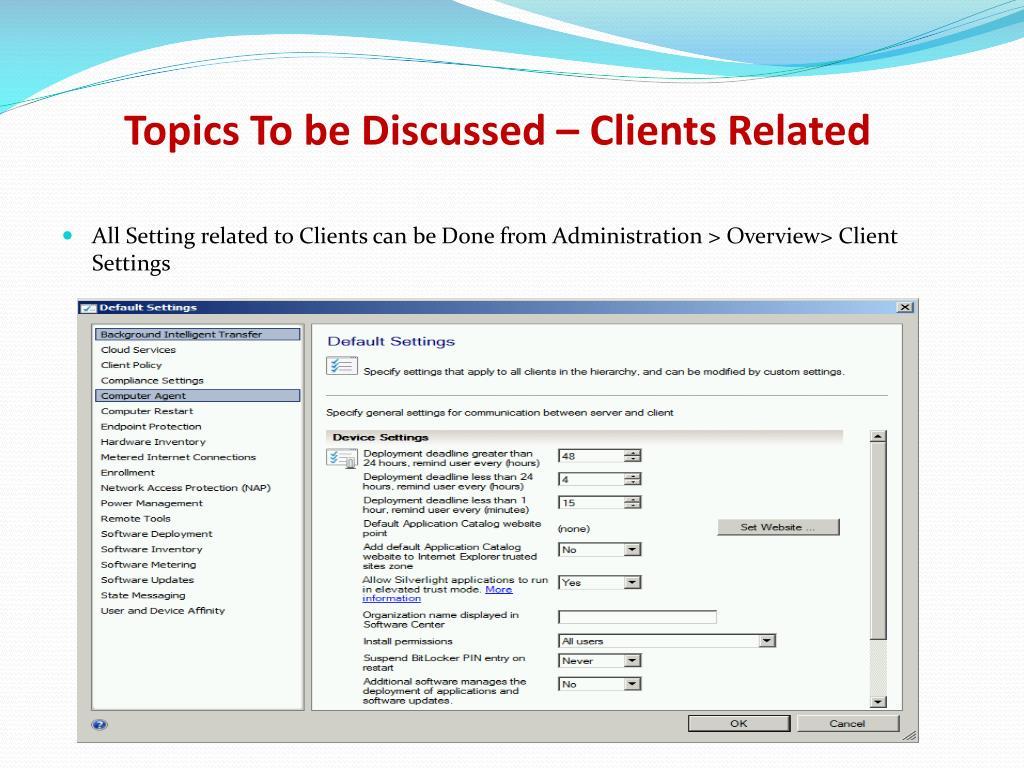 PPT - SCCM Training PowerPoint Presentation - ID:6279241
