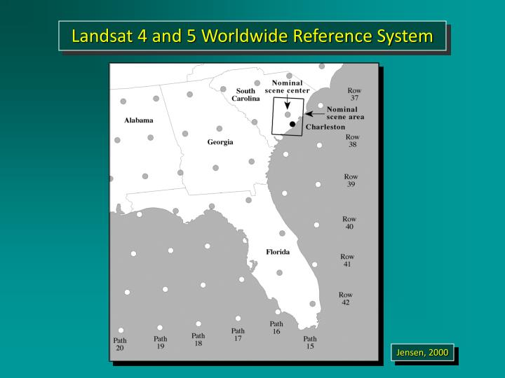 Landsat 4 and 5 Worldwide Reference System