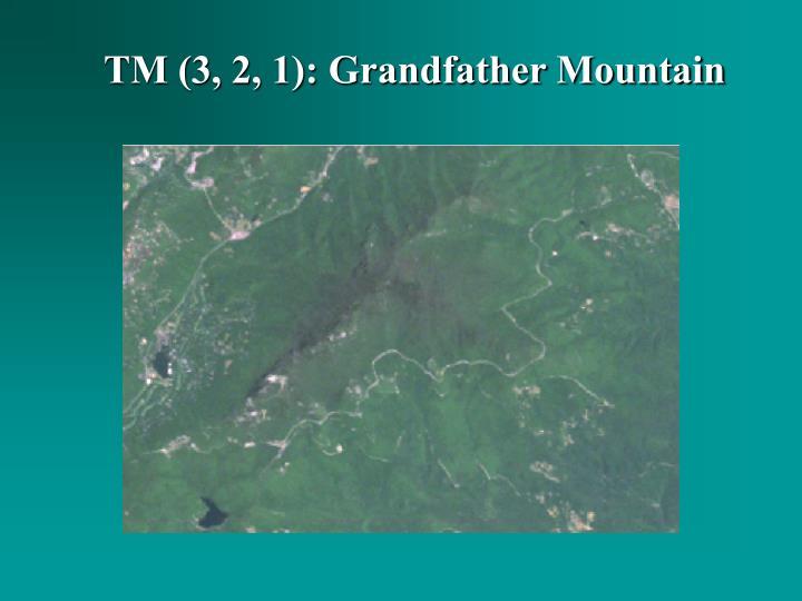 TM (3, 2, 1): Grandfather Mountain