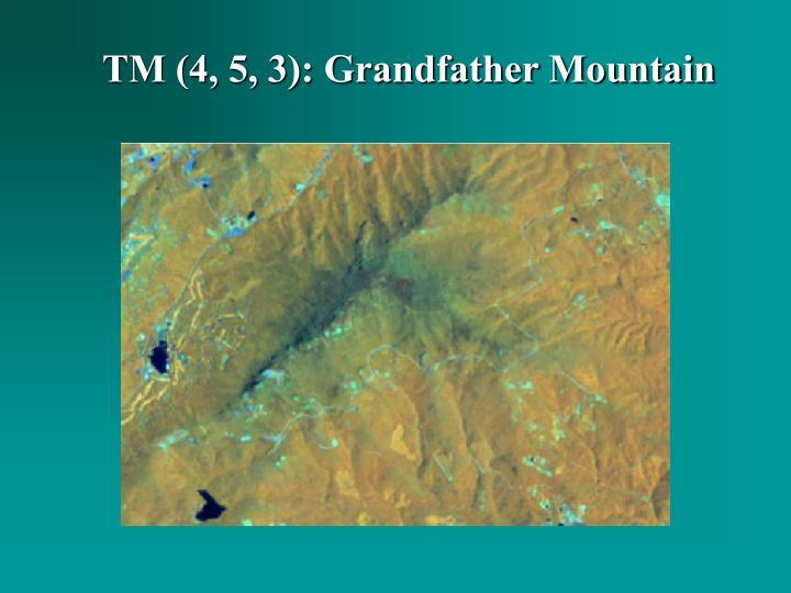 TM (4, 5, 3): Grandfather Mountain