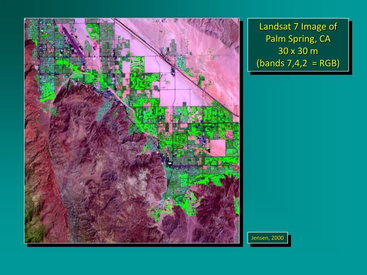 Landsat 7 Image of