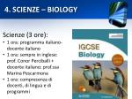 4 scienze biology