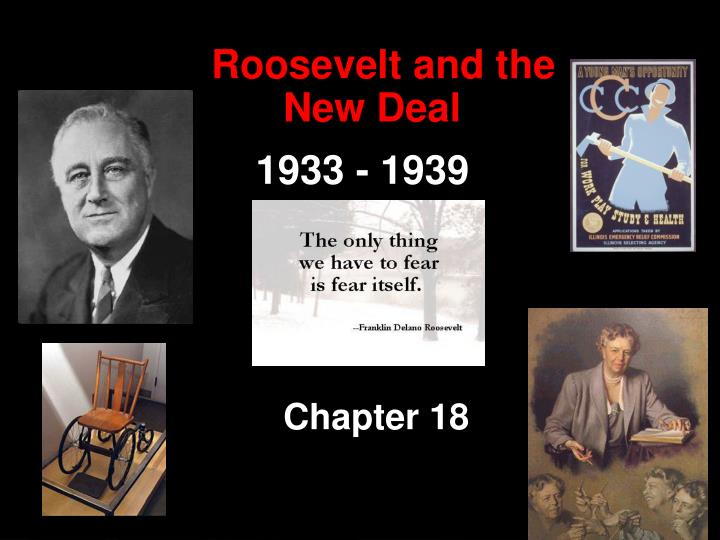 were franklin d roosevelts new deal programs Good intentions are over-rated franklin delano roosevelt's new deal, for instance, has been hailed for its lofty goals of reforming the american economy and helping the under-privileged.