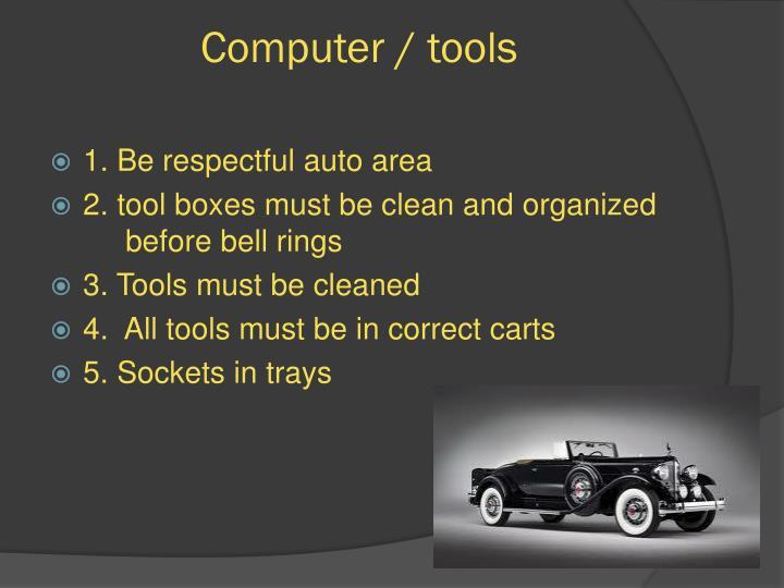 Computer / tools