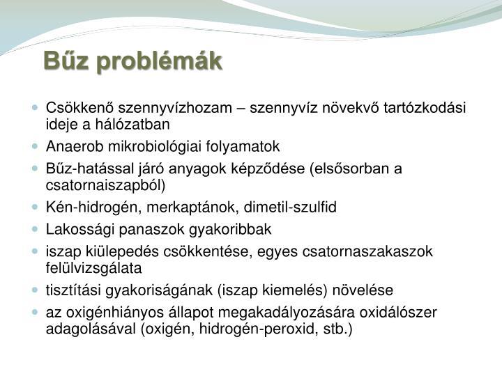 Bűz problémák